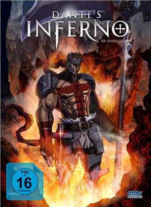 Dante's Inferno (2010) (Cover D, Limited Edition, Mediabook, Blu-ray + DVD)