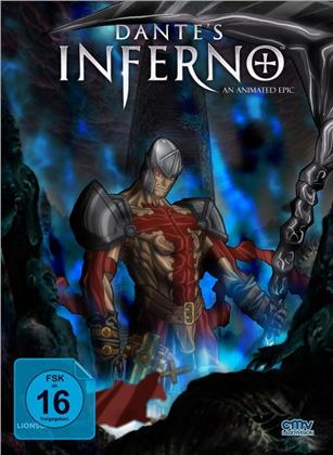 Dante's Inferno (2010) (Cover E, Limited Edition, Mediabook, Blu-ray + DVD)