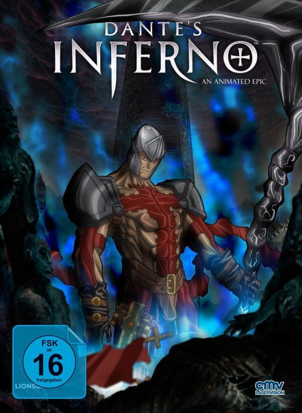 Dante's Inferno (2010) (Cover E, Limited Edition, Mediabook, Blu-ray + DVD)