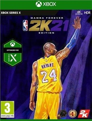 NBA 2K21 - (Edition Mamba Forever )
