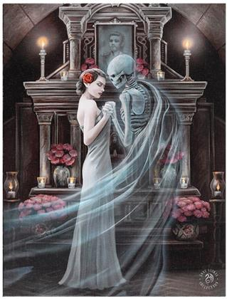 Anne Stokes: Forever Yours - Canvas Print