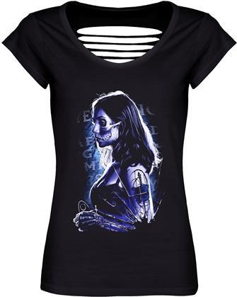Mystical Death - Ladies Razor Back T-Shirt - Grösse XS