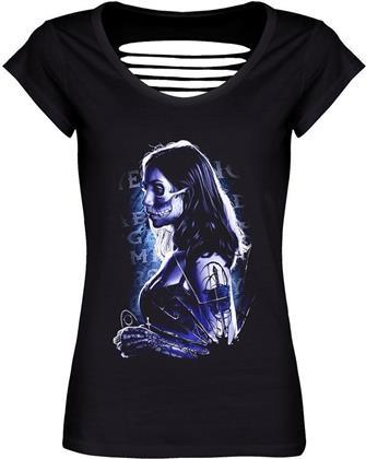 Mystical Death - Ladies Razor Back T-Shirt - Grösse L