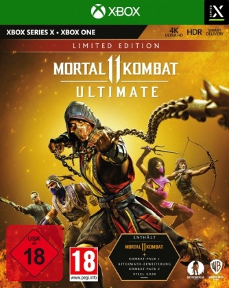 Mortal Kombat 11 Ultimate (Steelbook Edition)