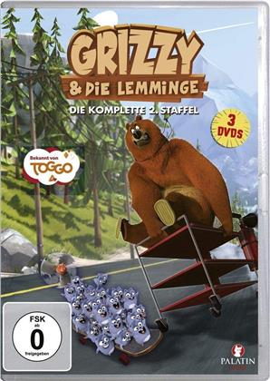 Grizzy & die Lemminge - Staffel 2 (3 DVDs)