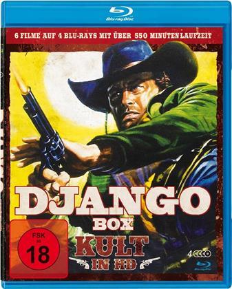 Django Box - Kult in HD (4 Blu-rays)