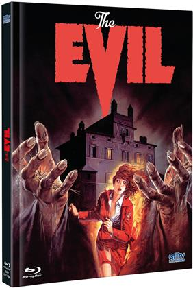 The Evil (1978) (Cover B, Limited Edition, Mediabook, Uncut, Blu-ray + DVD)