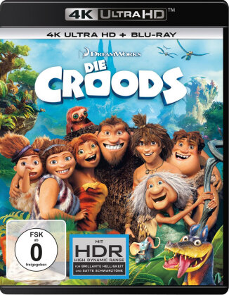 Die Croods (2013) (4K Ultra HD + Blu-ray)
