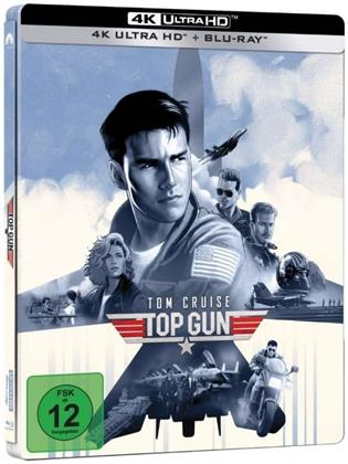 Top Gun (1986) (Limited Edition, Steelbook, 4K Ultra HD + Blu-ray)