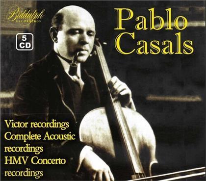 Pablo Casals (1876 - 1973) - Victor Recordings - Complete Acoustic Recordings - HMV Concerto Recordings