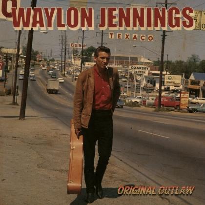 Waylon Jennings - Original Outlaw (2021 Reissue, Red, White & Blue Vinyl, LP)