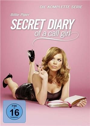Secret Diary of a Call Girl - Die komplette Serie - Staffeln 1-4 (4 DVDs)