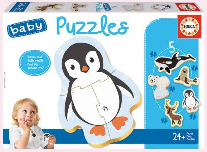 Baby Puzzles North pole (Kinderpuzzle)