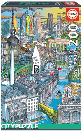 Citypuzzle Berlin - 200 Teile Puzzle