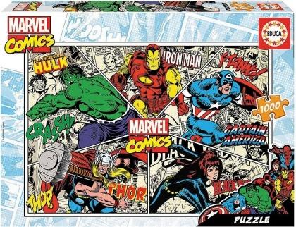 Marvel Comics - 1000 Teile Educa Puzzle