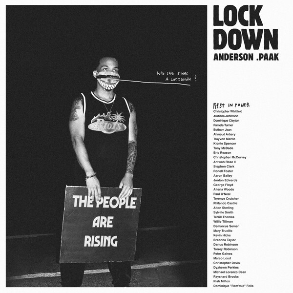 """Anderson Paak - Lockdown (Picture Disc, 10"""" Maxi)"""