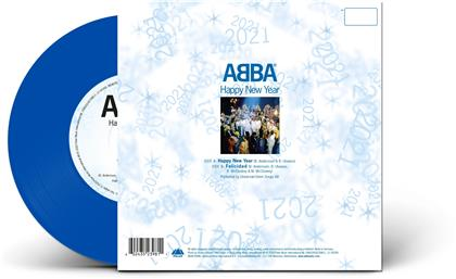 "ABBA - Happy New Year 2020 (Transparent Vinyl, 7"" Single)"