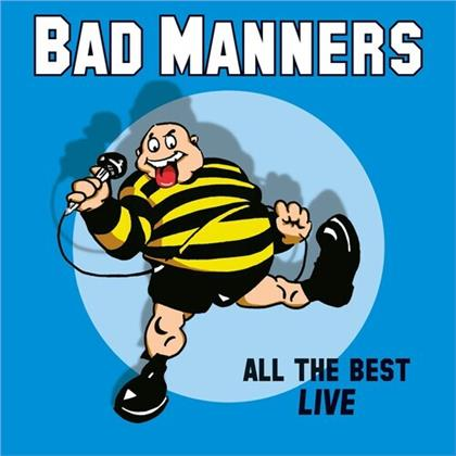 Bad Manners - All The Best Live (LP)