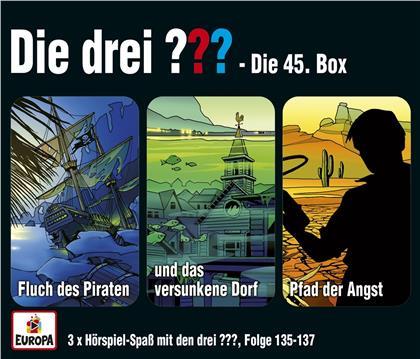 Die Drei ??? - 045/3er Box (Folgen 135,136,137) (3 CDs)