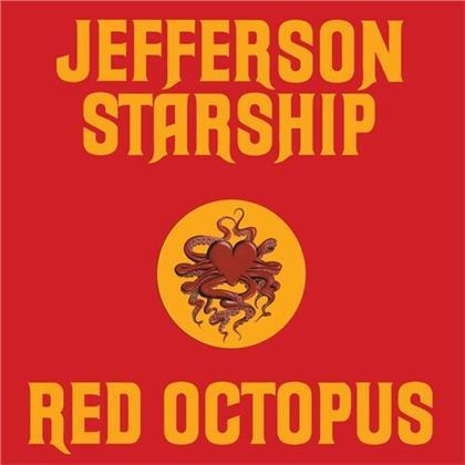 Jefferson Starship - Red Octopus (Friday Music, Die-Cut Sleeve, 2021 Reissue, Yellow Vinyl, LP)