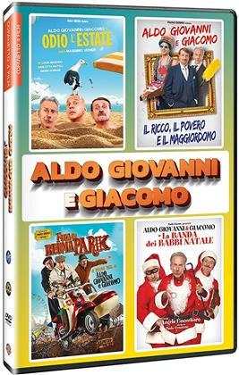Aldo, GIovanni e Giacomo - Cofanetto 4 Film (4 DVDs)
