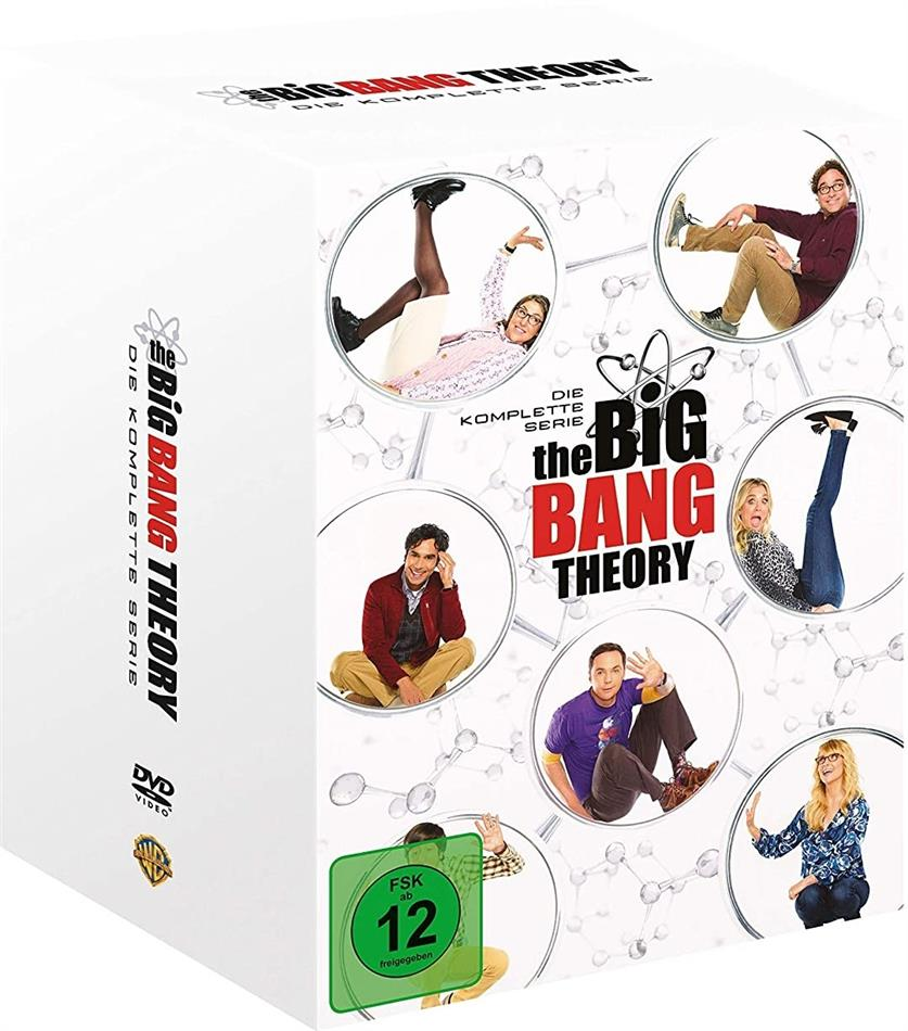 The Big Bang Theory - Die komplette Serie (36 DVDs)