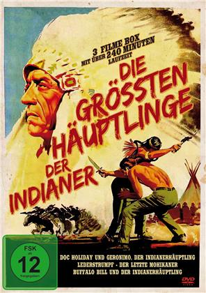 Die grössten Häuptlinge der Indianer - 3 Filme Box