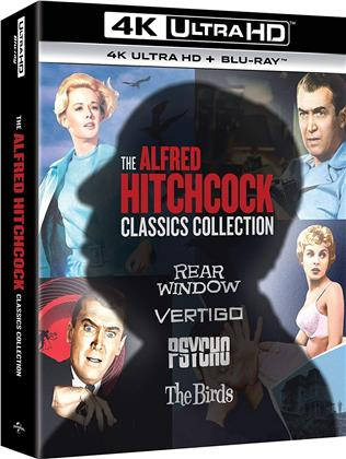 Alfred Hitchcock Collection (Digipack, 4 4K Ultra HDs + 4 Blu-rays)