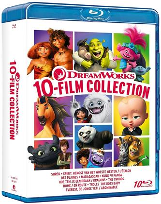 Dreamworks 10-Movie Collection (10 Blu-ray)