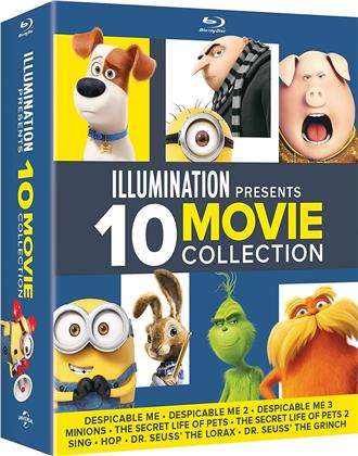 Illumination - 10 Movie Collection (10 Blu-ray)
