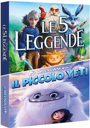 Il piccolo yeti / Le 5 leggende - Duo Boxset (2 DVDs)