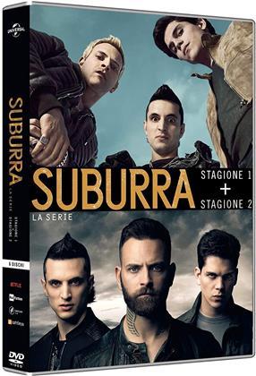 Suburra - La Serie - Stagioni 1 + 2 (6 DVDs)