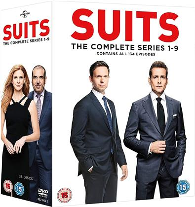 Suits - La Serie Completa - Stagioni 1-9 (33 DVDs)