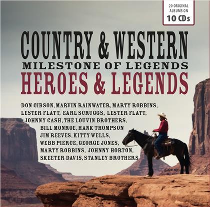 Country & Western Heroes (Wallet Box, 10 CDs)