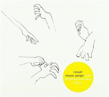 Rosset/Meyer/Geiger - Live At Beethovenhaus Bonn (LP)