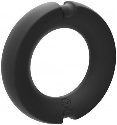 HYBRID Metal Cock Ring 50mm - black