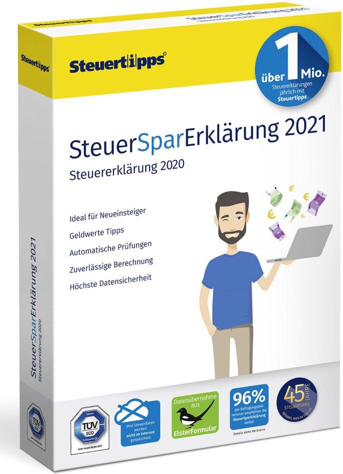 SteuerSparErklärung 2021 (Steuerjahr 2020)