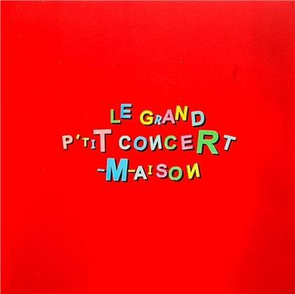 M (Matthieu Chedid) - Le Grand Petit Concert Maison (3 LPs)