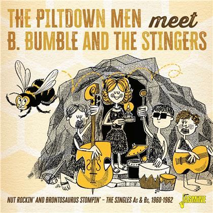 Piltdown Men Meet B. Bumb - Nut Rockin' And Brontosaurus Tompin - The Singles A's And B's