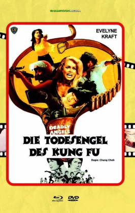 Die Todesengel des Kung Fu (1977) (Grosse Hartbox, Cover C, Limited Edition, Blu-ray + DVD)