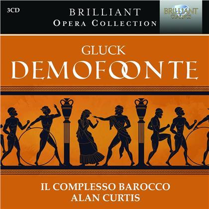 Il Complezzo Barocco, Christoph Willibald Gluck (1714-1787) & Alan Curtis - Demofoonte (3 CDs)
