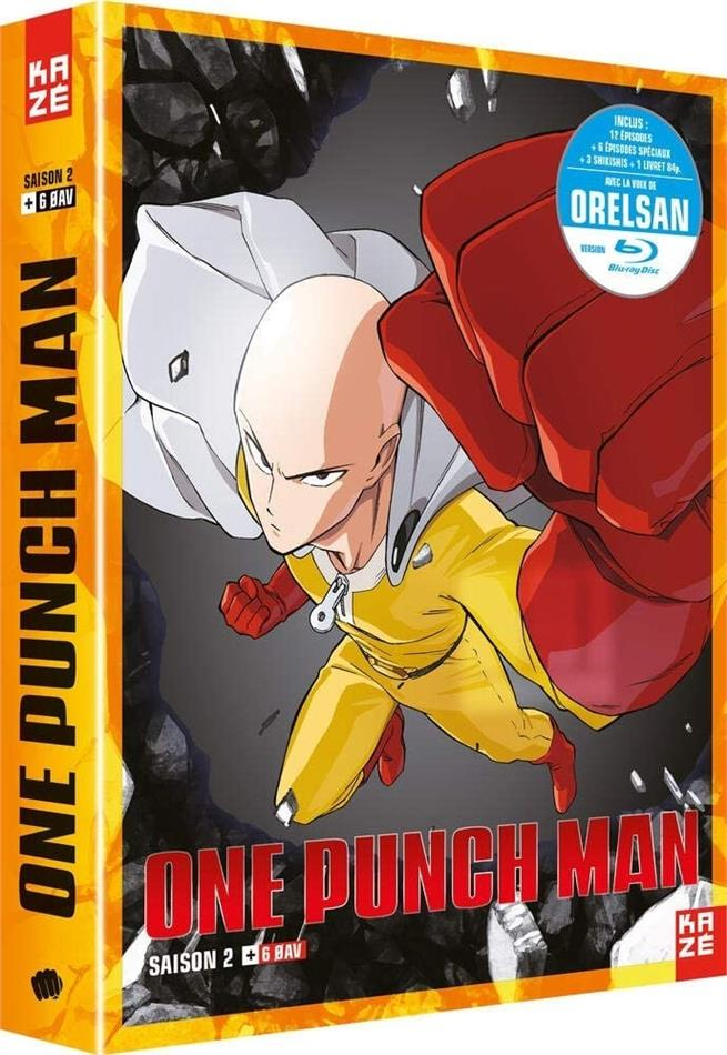 One Punch Man - Saison 2 (2 Blu-rays)