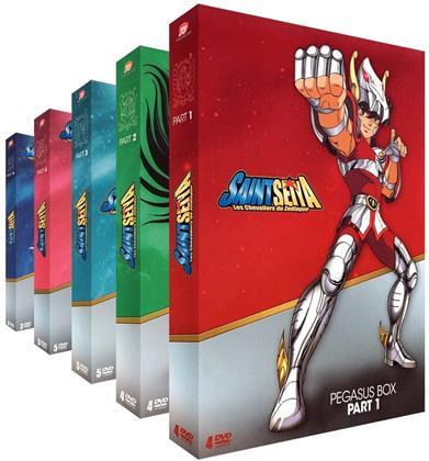 Saint Seiya - Les chevaliers du Zodiaque - Intégrale - 5 Coffrets (21 DVD)