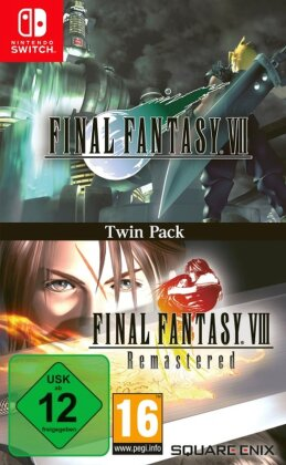 Final Fantasy VII & Final Fantasy VIII Remastered Twin Pack