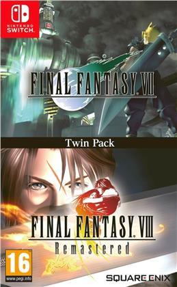 Final Fantasy VII & Final Fantasy VIII Remastered Twin Pack