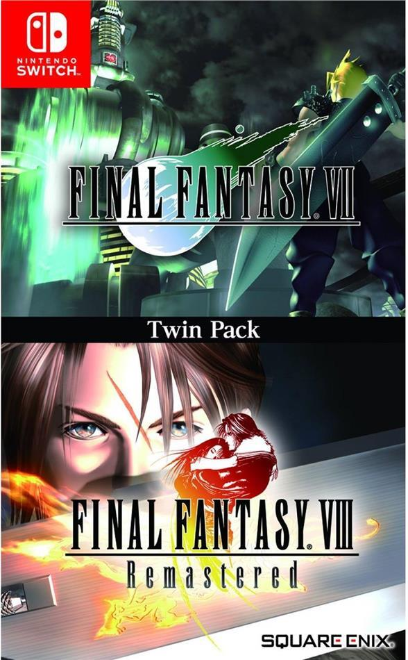 Final Fantasy VII & Final Fantasy VIII Remastered Twin Pack (Switch)