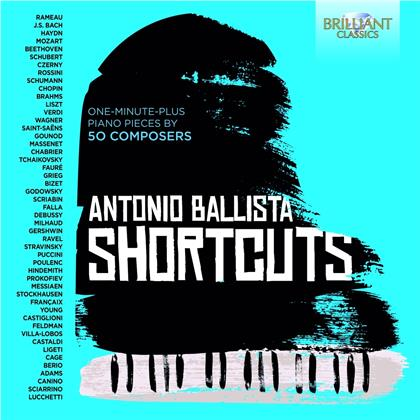 Antonio Ballista - Short Cuts - One-Minute-Plus Piano Pieces by 50 Composers (2 CDs)
