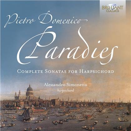Pietro Domenico Paradies & Alessandro Simonetto - Complete Sonatas For Harpsichord (2 CDs)