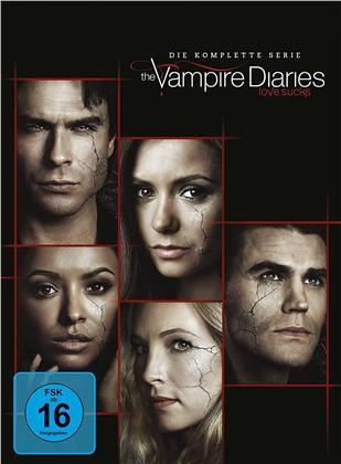 The Vampire Diaries - Die komplette Serie (40 DVDs)