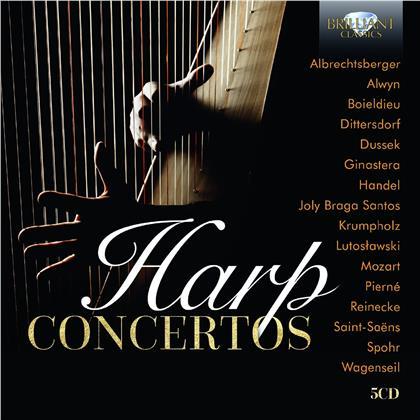 Harp Concertos (5 CDs)